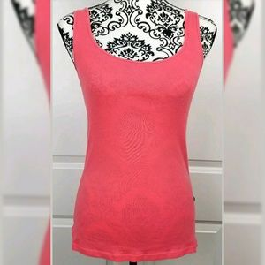 Ann Taylor Loft Pink Tank Top Medium